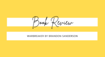 Book Review // Warbreaker by Brandon Sanderson